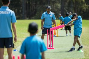 group cricket coaching trial